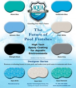 Pool Finish, Pool Paint finish - AquaGuard 5000
