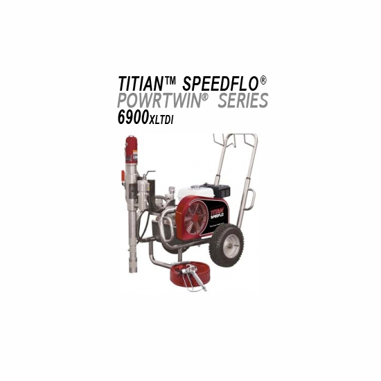 Titan Speeflo PowrTwin 6900XLT DI – Heavy Material Spraying System