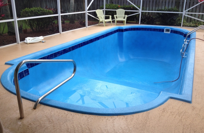 Aquaguard5000 Before and after Residential Pool