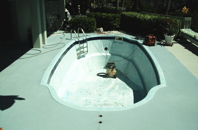 Residential Pool Resurfaced by AquaGuard 5000