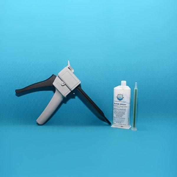 50 ML Injector Dispensing Gun Kit – Pool Crack Repair