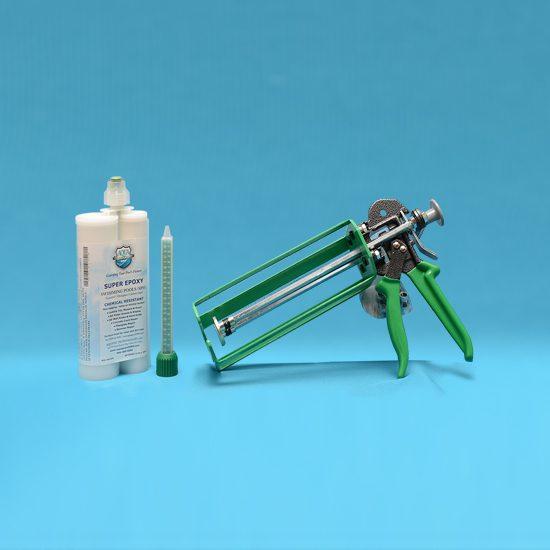 400 ML Injector Dispensing Gun Kit – Crack and Skimmer Repair Kit