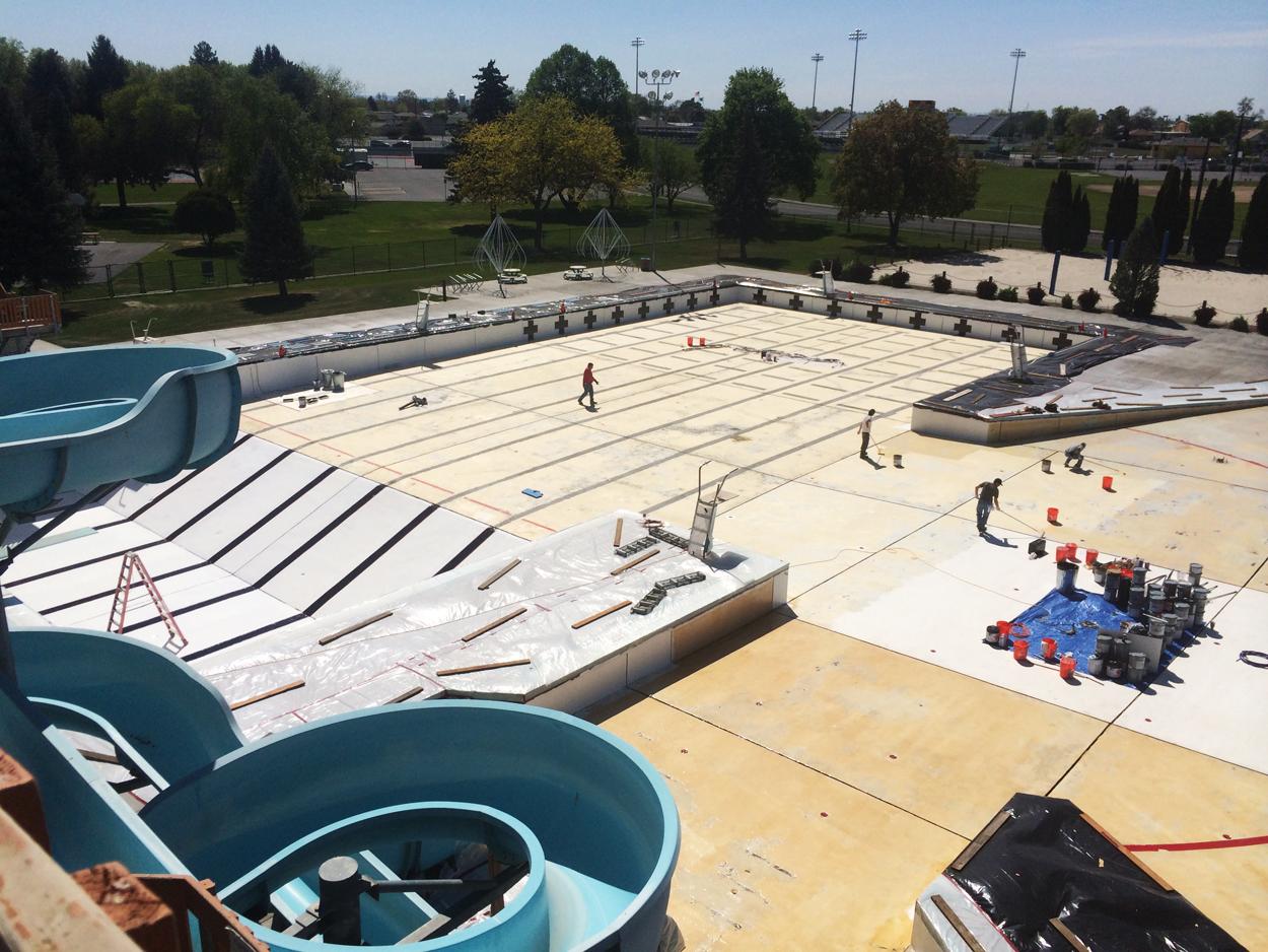 Commercial Pool Restoration By AquaGuard 5000