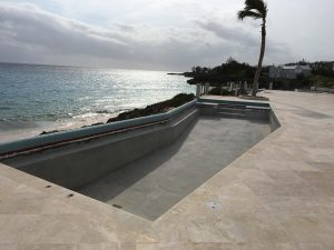 Commercial Swimming Pool Epoxy Paint used in Bermuda