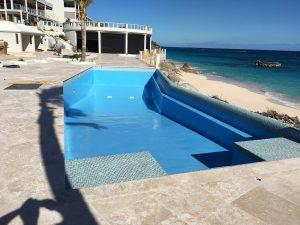Commercial Swimming Pool Paint/resurfacing in Bermuda