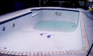 Fiberglass Residential Pool Repair - Epoxy Pool Paint and Pool Repair
