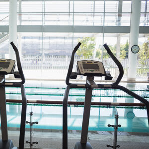 Commercial pool resurfacing and restoration for gyms