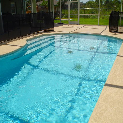 Pool Repair and Restoration with AquaGuard 5000 Epoxy Pool Paint