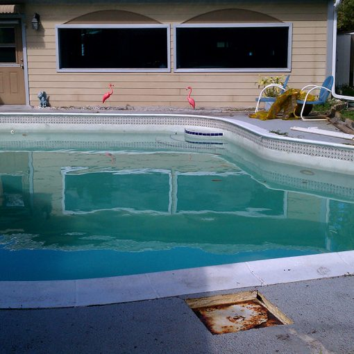 Epoxy Pool Paint - Residential Pool Repair