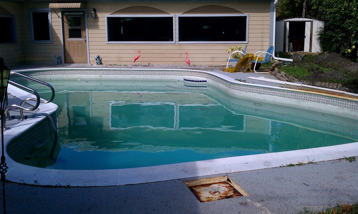Epoxy Pool Paint - Residential Pool Repair