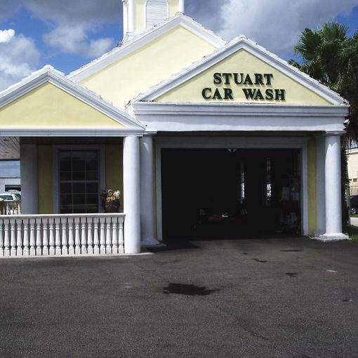 Stuart Car Wash Restored with AquaGuard 5000 Epoxy Paint Products