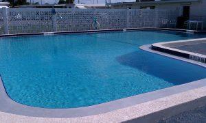 Community Pool Repair and Paint