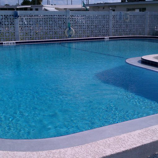 Community Pool Repair and Resurfacing with AguaGuard Epoxy Pool Paint