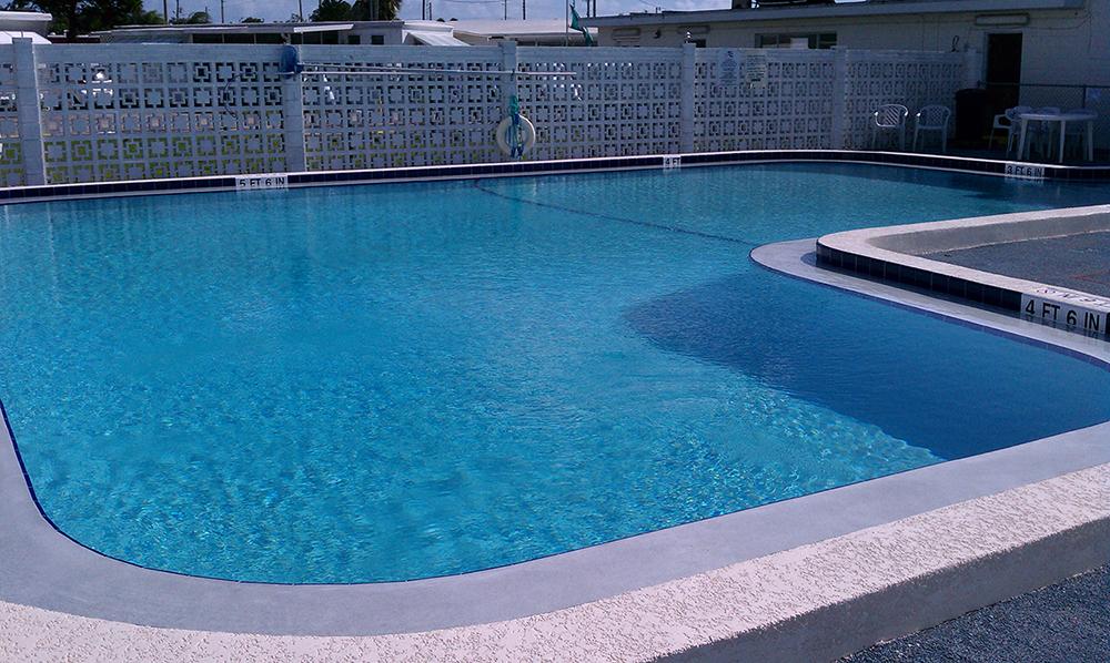 Community Pool Repair And Resurfacing With Aguaguard Epoxy Pool Paint Aqua Guard 5000