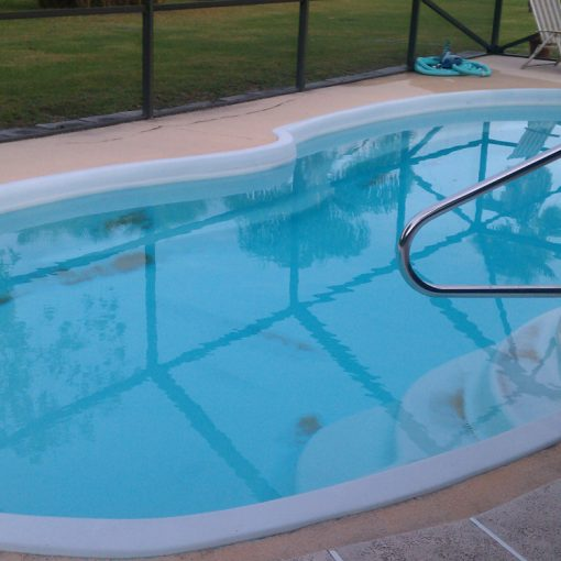 Fiberglass Pool Resurfacing with AquaGuard 5000 Pool Paint