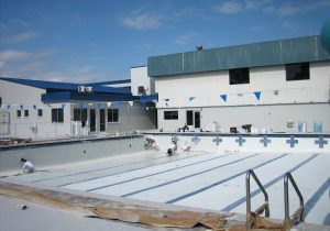 YMCA Commercial Swimming Pool Resurfacing