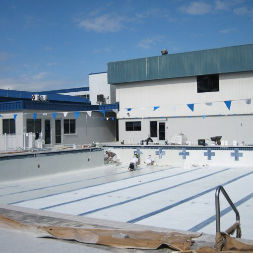 Commercial Pool Resurfacing - YMCA