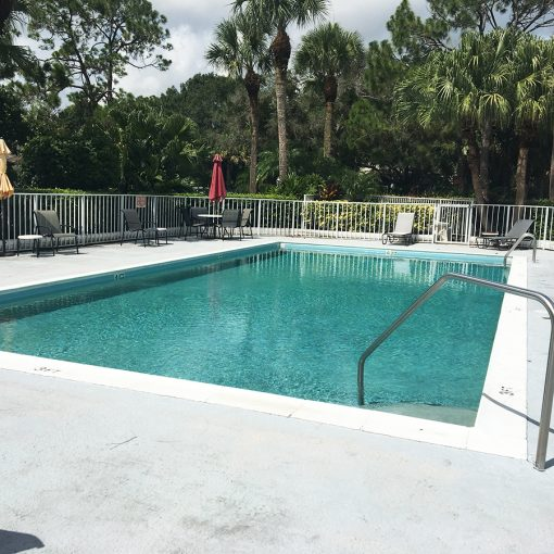 Commercial Pool Resurfacing with AquaGuard 5000 pool repair products