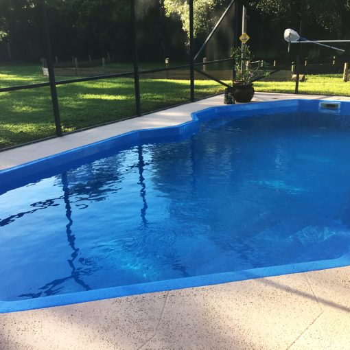 Residential Pool Resurfacing with AquaGuard 5000 Pool Paint