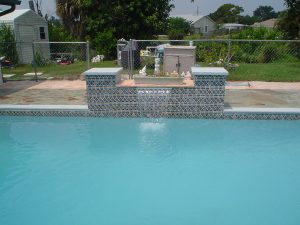 Residential Pool Water Fountain