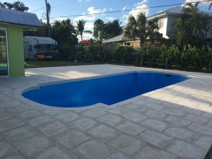Concrete pool resurfacing