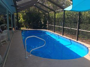 Residential Pool Repair and paint