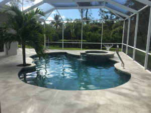 Pool repair and paint with Aquaguard pool products