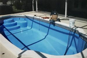Residential Pool Resurfacing with AquaGuard5000 Epoxy Pool PAint